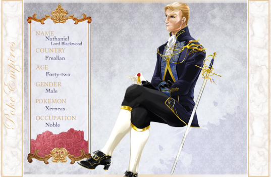 {P-E} Nathaniel, Lord Blackwood by Fawnlen