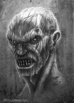 Character Design Zombie value 01 by madmagnus