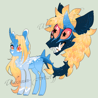 Primal Plant Pony Auction - closed by Unknown-Artist99