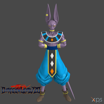 DBZ Fighter Lord Beerus by DragonLord720