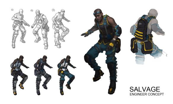 Salvage - The Engineer by radioblur