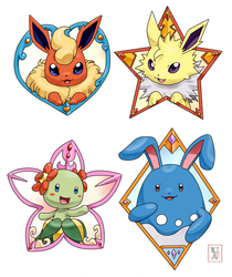 Commission .: Team Badges :. by Icandoittoo