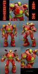 Hulkbuster Iron Man Figure by Jin-Saotome