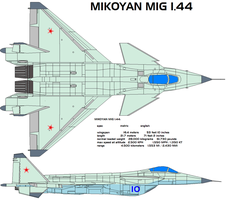 Mikoyan MiG 1.44 MFI by bagera3005
