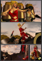 Scarlet vs Tifa: Culmination in Crises Page 11 by BusterMachineArts