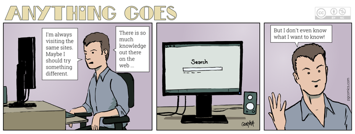 Anything Goes 018 - Where on the web... by Quebecman