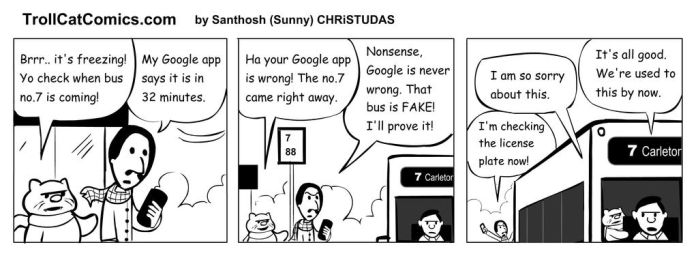 Google is NEVER wrong! by jackbliss
