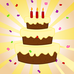 Birthday Cake Vector by pizzalover53