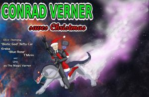 Conrad Verner Saves Christmas by IndigoWolfe
