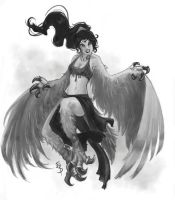 harpy by Esther-Sanz