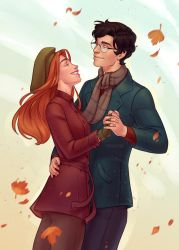 Lily and James by ribkaDory