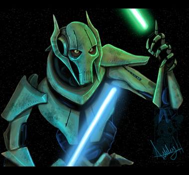 General Grievous by Ash-Dragon-wolf