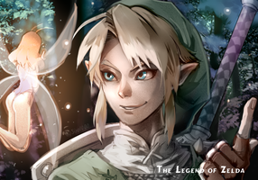 The Legend of Zelda! by shiroton