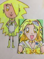 ACEO: Sailor Lighting by Magical-Mama