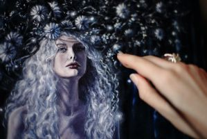 Leanan Sidhe details by Gwillieth