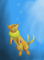Buizel Goin' for a Dive by PacificPikachu