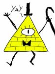 Bill cipher  by CreepypastaJTK