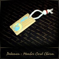 Pokemon - Member Card Charm