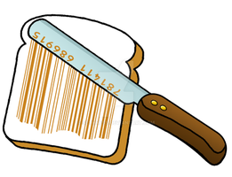 barcode creativity: bread spread by sethness