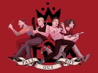Fall Out Boy by Inkyness