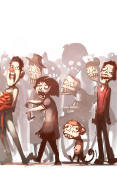 Zombies by NgJas
