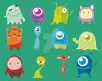 Cute Monsters (Complete)