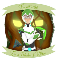 Green Paladin of Voltron by oceanstide