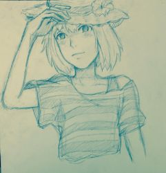 Summer Hat by Sumiko123