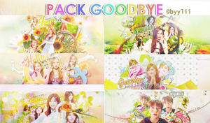 [PSD] Pack Goodbye by ByyLii