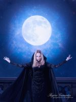 Blue Moon`s Witch by RogerioGuimaraes
