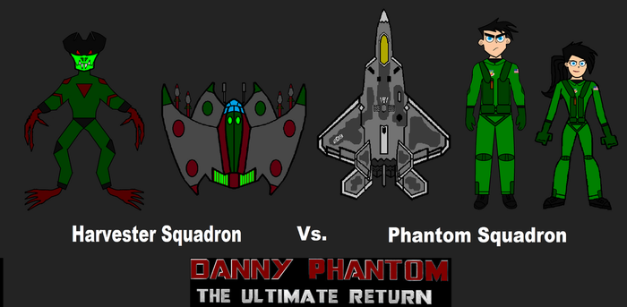Phantom Squadron Chapter Promo Poster. (DP:TUR) by LooneyAces