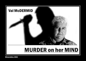 Val McDermid crime novelist by misteriddles