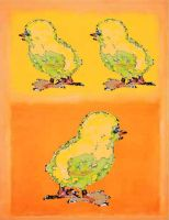 Rothko and his Chicks by ibnelson