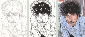 COMM. PSC - Bob Dylan - Steps by The-Real-NComics