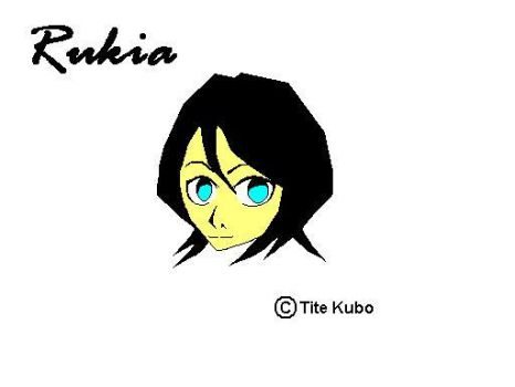 Another Rukia -ms paint- by Spector-Q