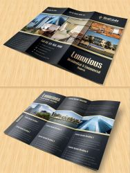 Real Estate Trifold Brochure by Saptarang