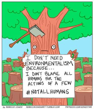 Trees Against Environmentalism by Gyno-Star