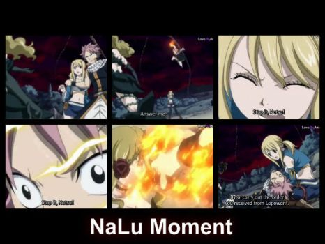 NaLu Moment Episode 144 by LilyRose98
