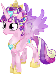 Behold the Crystal Princess by TheShadowStone