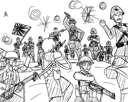 APH - The Battle of Hong Kong by ask-military-Canada