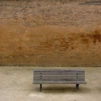 bench in the square by n0vember