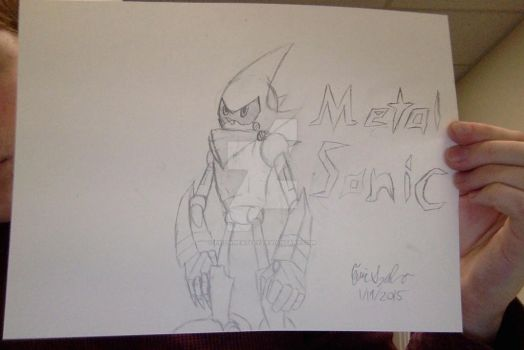 My Metal Sonic Redesign: Sonic Boom by EvilWheatley