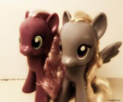 Cheerilee and Lily Blossom by MidnightRarity