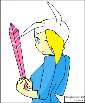 Warrior Fionna by cherryblossom1998