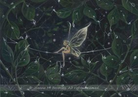 Pixie in Luminous Greens by JoannaBromley