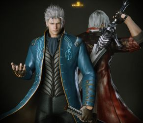 Sons of Sparda by DemonLeon3D