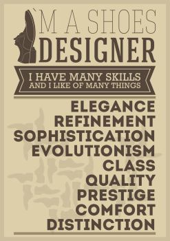 Designer Shoes Poster by grillobox