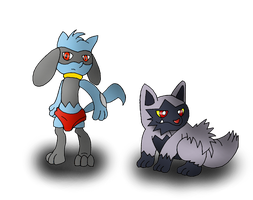 The Pokemon Book: Mowgli + Poochyena
