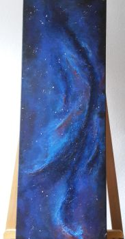 abstract space (acrylic) v1 by das-chu