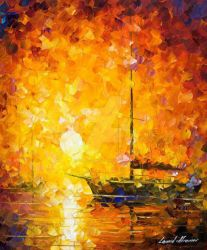 Glow Of Passion by Leonid Afremov by Leonidafremov